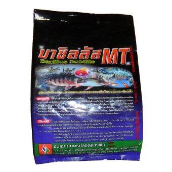THAIGREENAGRO บาซิลลัส MT (ไทยกรีนอะโกร THAIGREEN SHOP สินค้าการเกษตร จุลินทรีย์การเกษตรย่อยสลายขี้เลน ของเสียที่พืชบ่อ กุ้งปลาหายใจสบายไม่ขาดอ๊อกซิเจน)