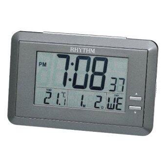 RHYTHM นาฬิกา LCD รุ่น LCT060NR08 - Gray
