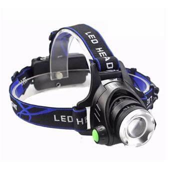 B2B store123-CREE โคมไฟสวมศีรษะ XM-L T6 LED 2000Lm