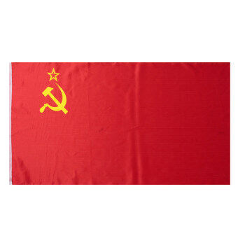 Harga Red CCCP Union of Soviet Socialist Republics USSR Flag Russia Banner 90*156cm - intl