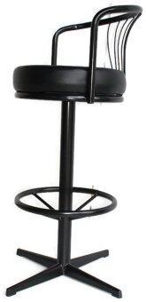 ต้องการขาย Inter Steel เก้าอี้บาร์ มีพนักพิง เบาะหมุน รุ่น CT-14P โครงดำ /เบาะดำ
