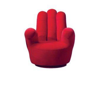 Intrend Design โซฟาเดี่ยว รูปมือ (สีแดง)