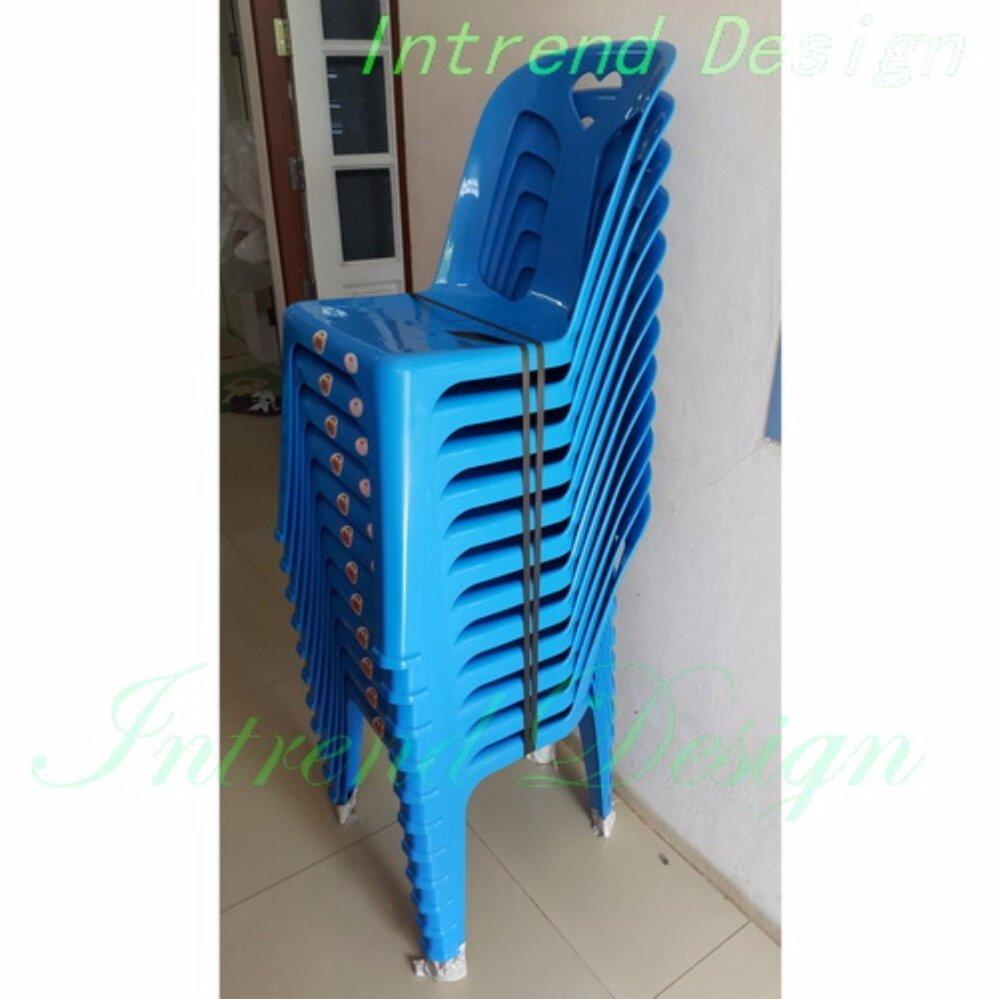 เช่าเก้าอี้ เชียงใหม่ IntrendDec เก้าอี้พลาสติกมีพนักพิง ( 12ตัว) รุ่น หัวใจ พลาสติกเกรดA