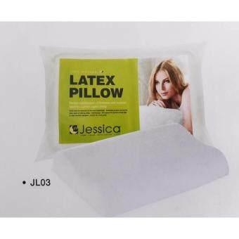 Jessica หมอนเพื่อสุขภาพ หมอนลาแท็กซ์ หมอนยางพารา หมอนหนุนยางพารา Jessica Latex Pillow รุ่น JL03