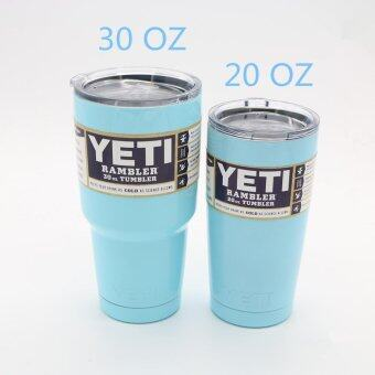 JianBu 304 Stainless Steel 20 Oz/30 Oz Yeti Cups Vehicle Beer MugDouble Wall Bilayer Vacuum Insulated(30 Oz) - intl
