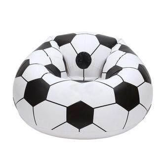 ประกาศขาย jingot Inflatable Football Sofa Cool Design Bean Bag High QualityEco-friendly Pvc For Adults And KidsBlack+white Large