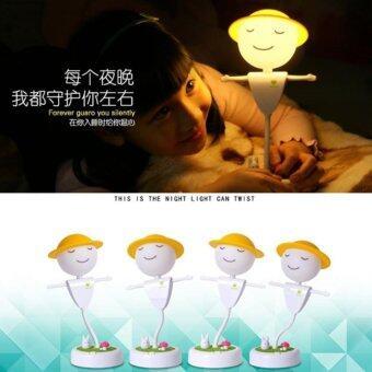 Jte โคมไฟหุ่นไล่กาแบบสัมผัส (White) - 5