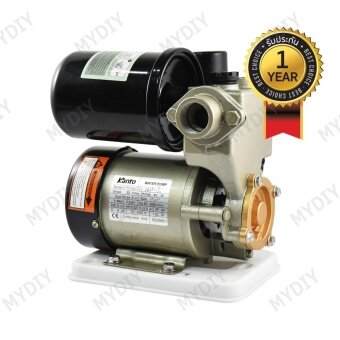 KANTO ปั๊มน้ำ ปั้มน้ำ อัตโนมัติ พร้อมฐานพลาสติกเหนียว ใบพัดทองเหลือง ไม่เป็นสนิม 250 วัตต์ มาตราฐาน ISO9001:2000 Automatic Water Pump รุ่น KT-PS130-AUTO