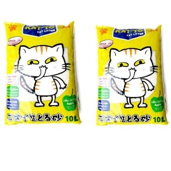 KAT-TO Cat litter ทรายแมว 10L ( 2 units )