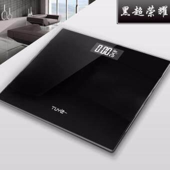 ฟรี!! ส่งKerry สินค้ามาใหม่!!! Electronic weight scale เครื่องชั่งน้ำหนักดิจิตอล สีดำ (Black)