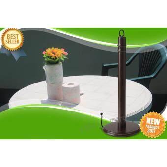 เปรียบเทียบราคา Kitchen roll holder ที่ใส่กระดาษอเนกประสงค์ แกนใส่กระดาษทิชชู่จากไม้ธรรมชาติ ตั้งโต๊ะ หรือแขวนก็ได้ รุ่น FINTORP