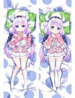 Kobayashi-san Chi no Maid Dragon Anime Dakimakura Case Cushion Pretty Girl Hugging Body Japan Pillow Cover - intl