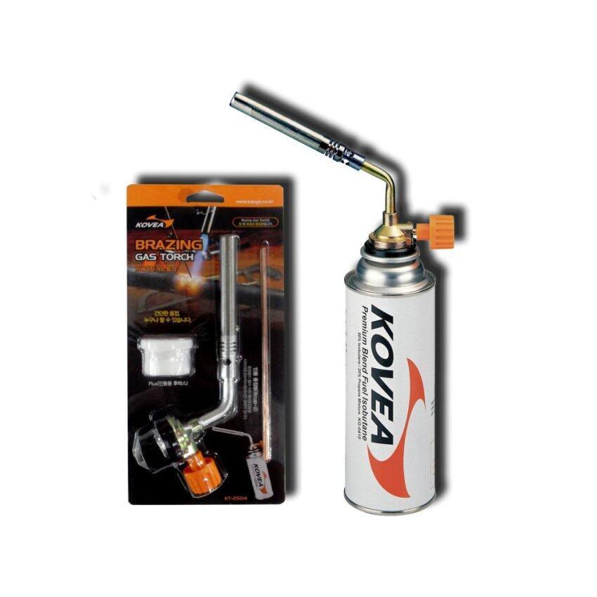 KOVEA หัวเชื่อมประสาน-พ่นไฟ แบบพกพา KT-2504 สำหรับใช้กับแก๊ส