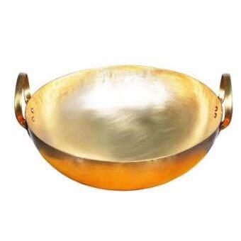 กระทะทองเหลือง เบอร์ 11