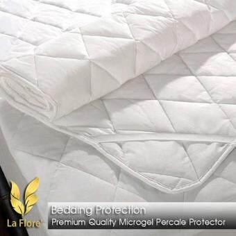 LaFlore' ผ้ารองกันเปื้อนที่นอนขนห่านเทียม5 ฟุต