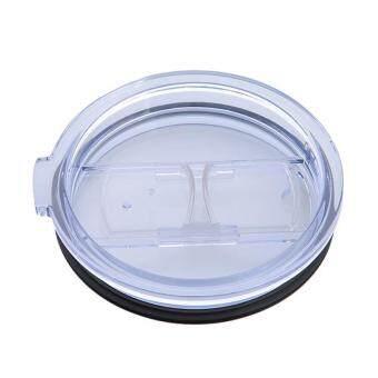 ต้องการขาย LALANG Splash Spill Proof Lid With Slider Closure For RTIC and YETI Rambler 20 Oz Tumblers Cups (Clear)