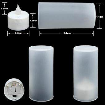 Harga LED Electronic Color Change Flicker Candle Light