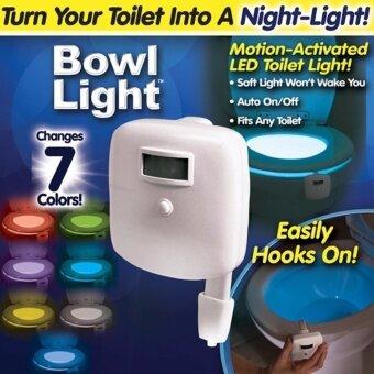 ไฟ LED ติดโถส้วม ไฟ LED ติดชักโครก