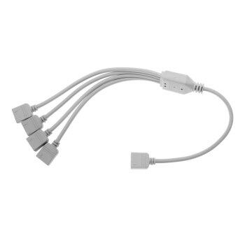 Lighting Accessories RGB Splitter Connector Cable for LEDStrip(White) - intl