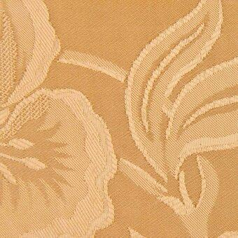 ผ้าห่มแพรทอลายเตียงเดี่ยว Lotus - 60x80 นิ้ว สีครีม - 2