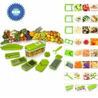 LOV Nicer Dicer Plus ชุดอุปกรณ์หั่นผักผลไม้ เครื่องหั่นผักผลไม้ เครื่องสไลด์ผักผลไม้ ชุด ...