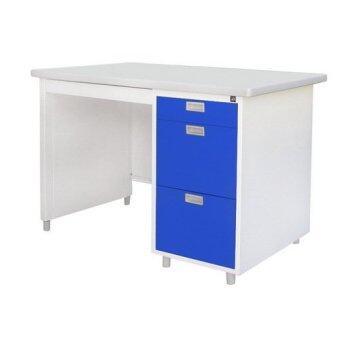 เปรียบเทียบราคา Lucky World โต๊ะทำงาน 1 เมตร รุ่น DL-35-3 (สีน้ำเงิน)