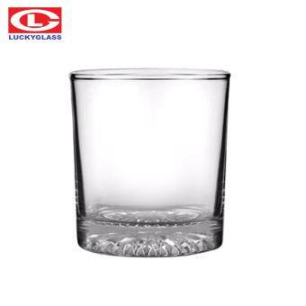 Luckyglass LG-43509 แก้วน้ำทรงเตี้ย 9 ออนซ์ Rock-Diamond Tumbler แพ็ค 12