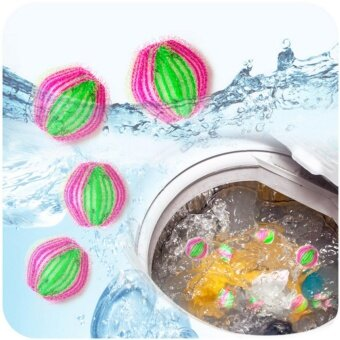 Magic Cleaner Washing Ball Washing Machine Cleaning Ball Cleaning Picking Ball Laundry Assistant (6pc) - intl
