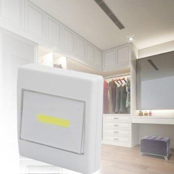 Harga Magnetic Ultra Bright 200 Lumens COB LED Night Lights Wall LampSwitch Closet Lights