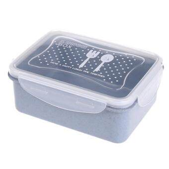 ขายด่วน max กล่องอาหาร สีฟ้า