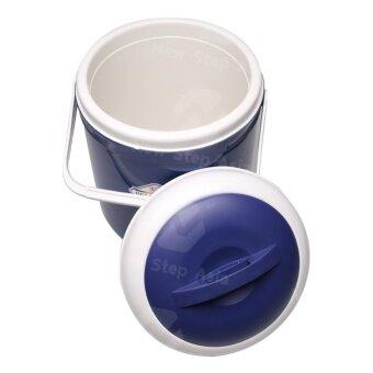 MaxDe กระติกน้ำแข็งอเนกประสงค์ กระติกอเนกประสงค์ กระติกแช่น้ำ กระติกเก็บความเย็น ขนาด 18 ลิตร สีกรมท่า - 3