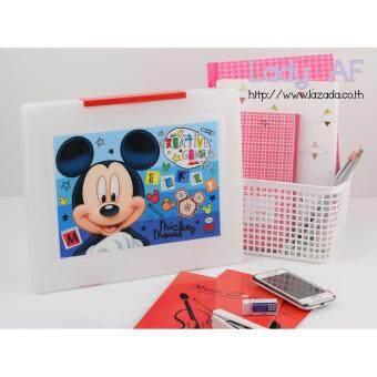 Mickey Mouse กระเป๋าแฟ้มใส่เอกสาร ลาย มิกกี้ เม้าส์ 01 สีขาว