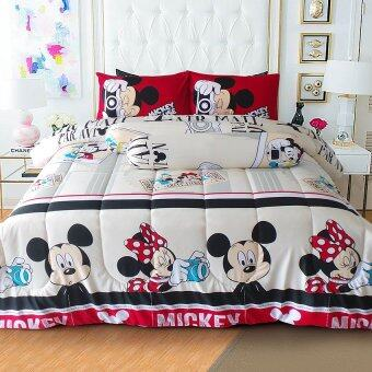 Harga Midori ผ้านวม 90x100 รุ่น Trendsetter_Mickey Travel Good Bedding