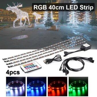 ไฟเส้น Multi-color RGB 5050 SMD LED พร้อมอะเดปเตอร์