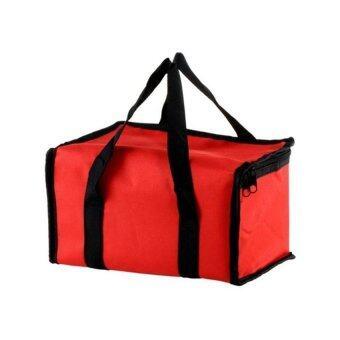 เสนอราคา Mushroom Thermal Insulation Food Bag (Red)