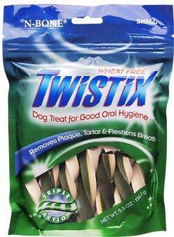 N-BONE ขนมขัดฟัน TWISTIX MINI 5.5 Oz. (สุนัข)