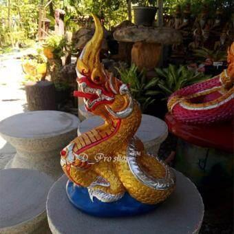 Nanapan รูปปั้น พญานาค OTOP ตกแต่งสวน ขนาด 9 นิ้ว