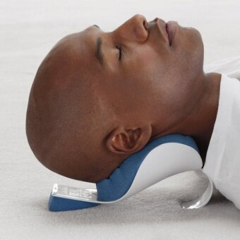 Neck and Shoulder Relaxer Neck Pain Relief and Support and Shoulder Relaxer Massage traction pillow - intl