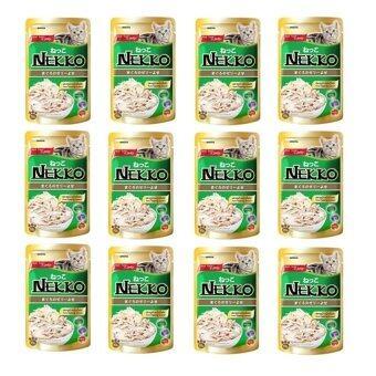NEKKO รสปลาทูน่าและเนื้อไก่ 70g ( 12 units )
