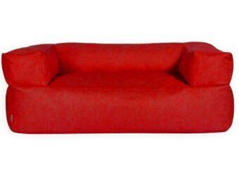 จัดโปรโมชั่น New Brand บีนแบคโซฟายาว ขนาด 60x120x60 cm (สีแดง)