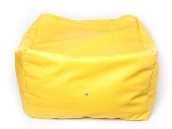 New Brand Bean Bag ทรงสี่เหลี่ยม - สีเหลือง