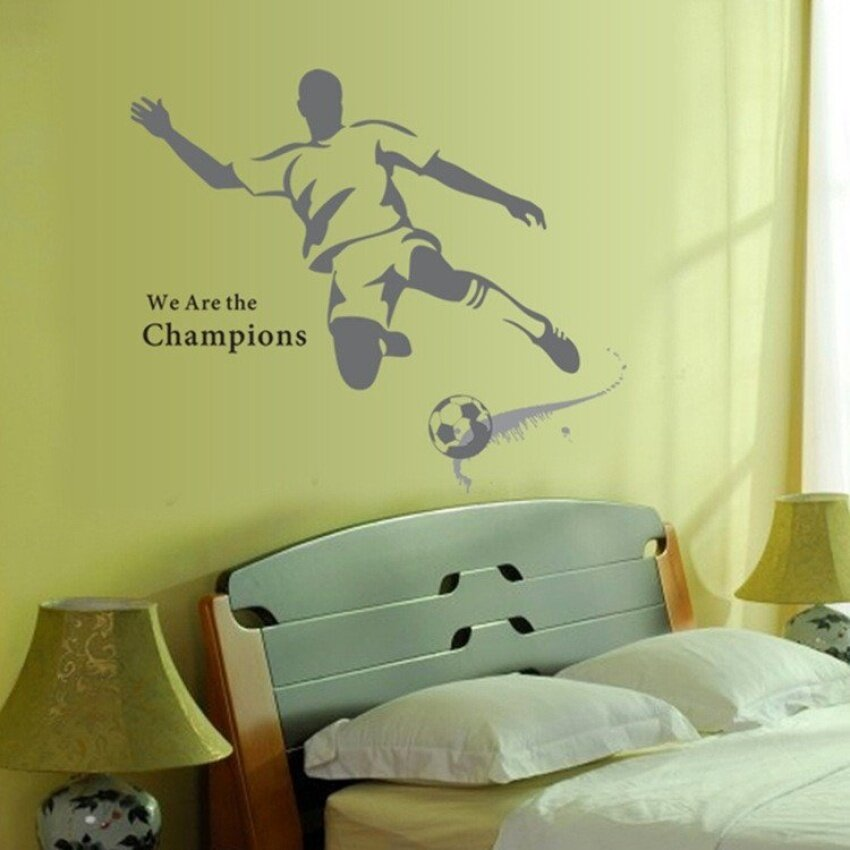New The World Cup Large Soccer Ball Football Wall Sticker For ...