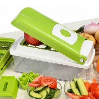 ขายด่วน NikoNicer Dicer ชุดเครื่องหั่นผัก เครื่องหั่นผัก ห้องครัวตกแต่งห้องครัว ชุดครัวสําเร็จรูป ครัว มีดเดินป่าNiko0097เขียว