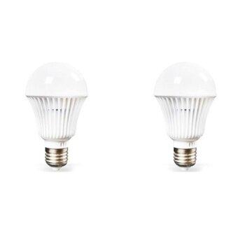 NKE หลอดไฟ LED ชนิดเกลียว E27 12 โวลต์ ขนาด 9 วัตต์ (2 หลอด)