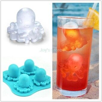 Octopus Mold Silicone Mold Cake Tools Cookie Cutter Ice Molds Cake Mould Bakeware Tools - intl