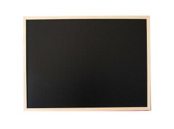 Office 2 art กระดาน Blackboard กระดานดำ ขอบไม้ ขนาด 80x120 cm. -สีธรรมชาติ