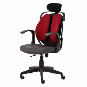 Office Intrend เก้าอี้เพื่อสุขภาพ รุ่น Dual-03RFF - สีแดง