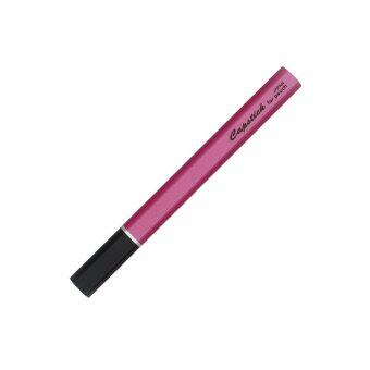 "ปากกา OHTO Pen JAPAN ""Capstick Series"" Needle Point Ball Pen -Black/Pink"