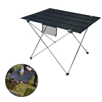 Outdoor Portable Ultralight Folding Table With Storage Bag Aluminum Alloy - intl