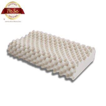 Pasa Latex Natural หมอนหนุนยางพารา massage knobs curve